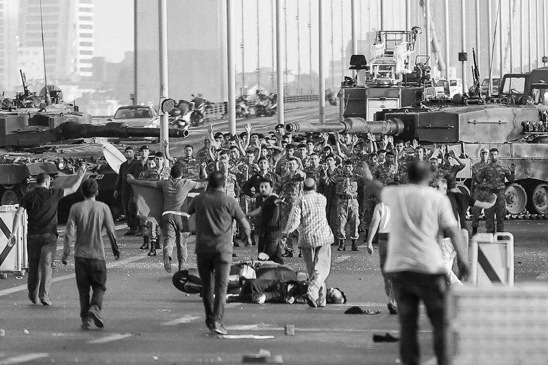 Военный переворот - это